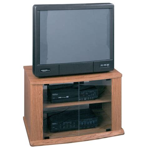 tv stand component cabinet tv stands 32 quot tv stand component storage inoak finish
