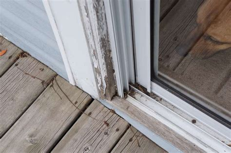 Patio Doors Leaking Bottom Poor Workmanship In The Addition Thumb And Hammer