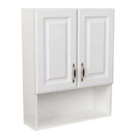 Home Depot Bathroom Storage St Paul Arkansas 24 In W X 30 In H The Toilet Bathroom Storage Wall Cabinet In White
