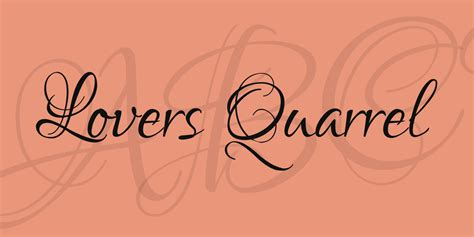 tattoo fonts lovers quarrel quarrel font 183 1001 fonts