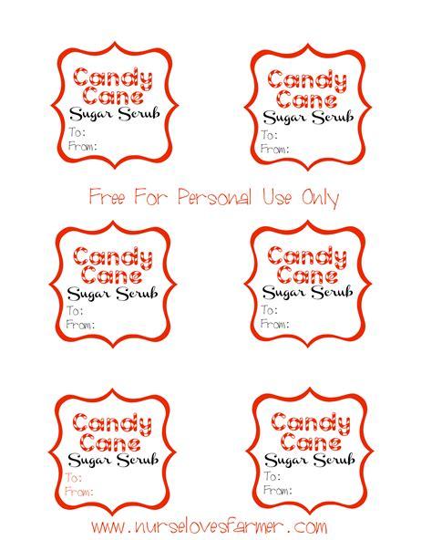 printable label for peppermint sugar scrub 9 best images of peppermint sugar scrub labels printable
