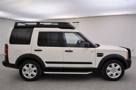 2008 land rover lr3 hse for sale sell used 2008 land rover lr3 hse low luggage rack
