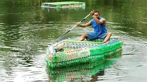 water bottle boat plastic bottle boat soda water bottles youtube