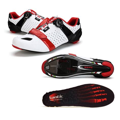shoe bike santic pro cycling shoe road cycling shoes carbon