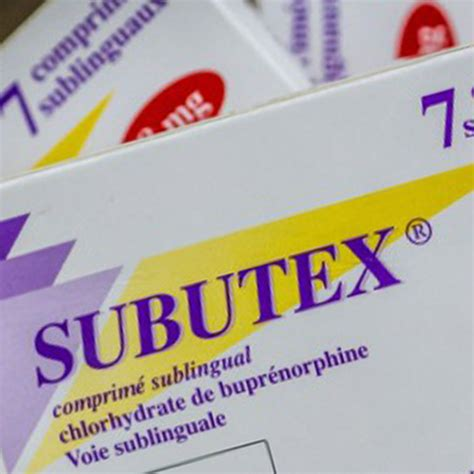 Detox From Opiates With Subutex by Image Gallery Subutex