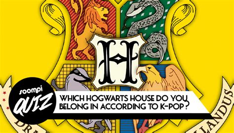 harry potter hogwarts house quiz quiz which hogwarts house do you belong in according to k pop soompi