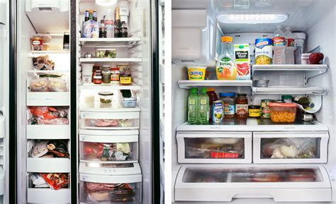 Organized Pantry by Mark Menjivar Photographs Inside People S Refrigerators For His Series You Are What You Eat