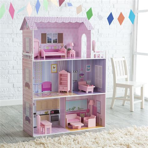 teamson kids fancy mansion play house  furniture toy