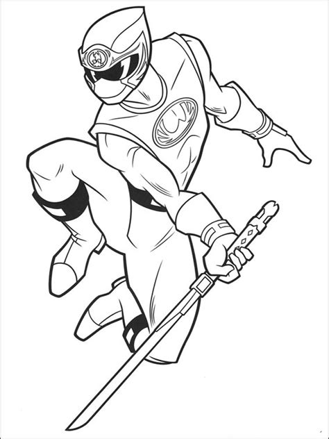 Power Rangers Ninja Storm Coloring Pages Games | black power ranger coloring page power rangers coloring