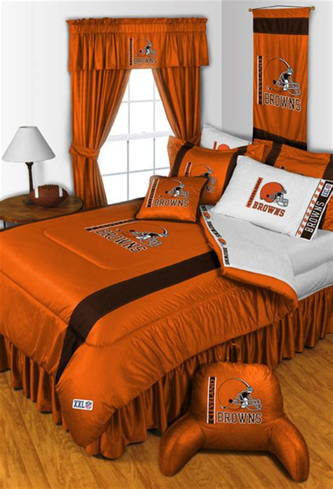 Cleveland Browns Decor by Nfl Cleveland Browns Bedding And Room Decorations Modern