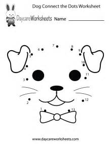 preschoolers can connect the dots to make a dog in this