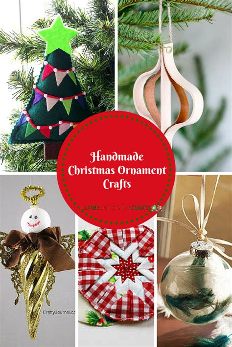 Ornaments Handmade Crafts - 50 handmade ornament crafts