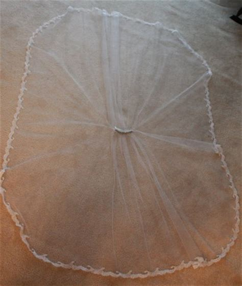 simple veil pattern how to make a diy wedding veil