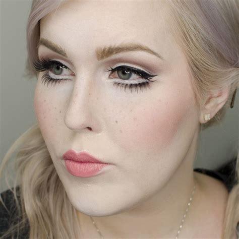 tutorial makeup halloween doll porcelain doll halloween makeup tutorial