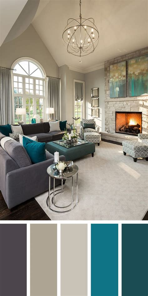 Choosing Paint Colors For Open Floor Plan 25 best ideas about teal living rooms on pinterest