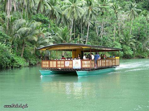 floating boat restaurant in bohol floating restaurant