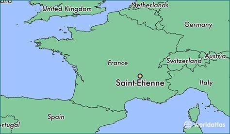 etienne map where is etienne etienne rhone