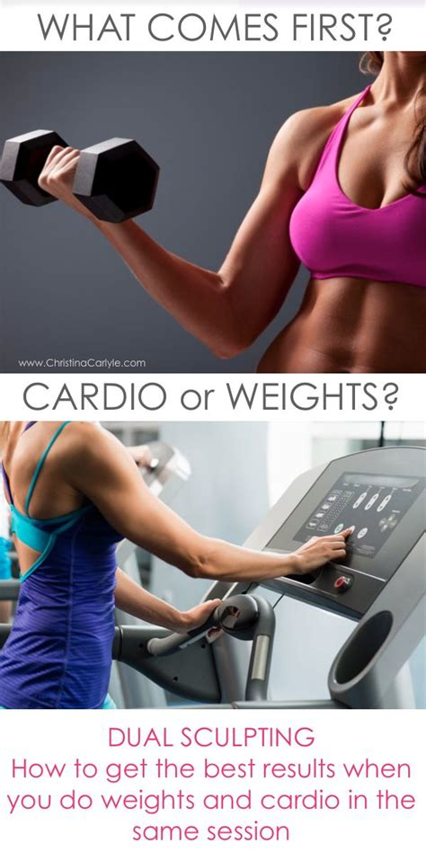 Should I Do Cardio Or Weights To Get Lean by 234 Best How To Lose Weight Fast Images On
