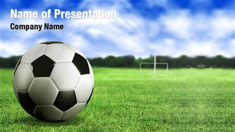 Football Ground Powerpoint Templates Football Ground Football Powerpoint Slides