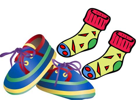 sneakers clipart sock shoe pencil and in color sneakers