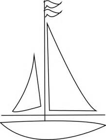 Sailboat Outline boat outline clip at clker vector clip royalty free domain