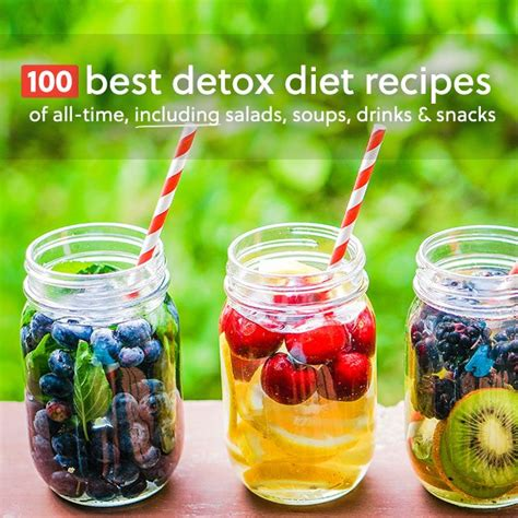 The Best Detox Drink Recipe by 100 Best Detox Diet Recipes Of All Time