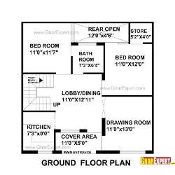 home maps design 100 square yard india architectural plans naksha commercial and residential