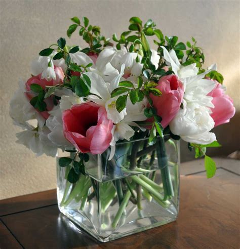 flower vase decoration home decorating ideas beautiful accessories for table centerpiece decoration using round glass