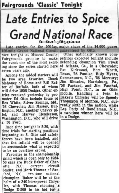 June 22, 1956 Monroe County Fairgrounds - Gallery - TMC