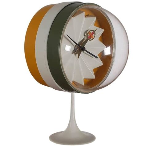 Mid Century Modern Desk Clock Mid Century Modern George Nelson For Howard Miller Desk Or Table Clock At 1stdibs