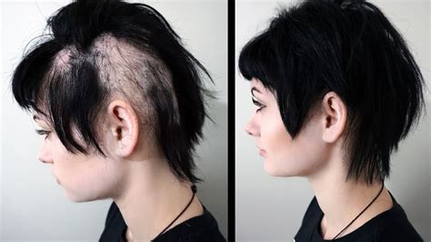 styles of woman who hide their bald spots haircuts to hide alopecia haircuts models ideas