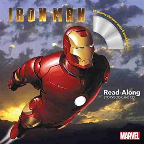 the iron man read 1407142291 iron man read along storybook and cd niftywarehouse
