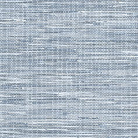 Nautical seaside blue faux grasscloth wallpaper pa34213 all 4 walls wallpaper