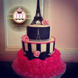 Paris Themed Quinceanera Take Your Guests On A Trip To The City Of Romance With A Paris Themed Quince Cake With Images