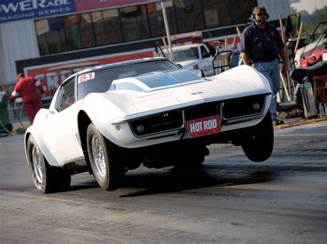 Corvette Drag Racing by 1968 Chevrolet Corvette Gas Drag Racing Rod Network