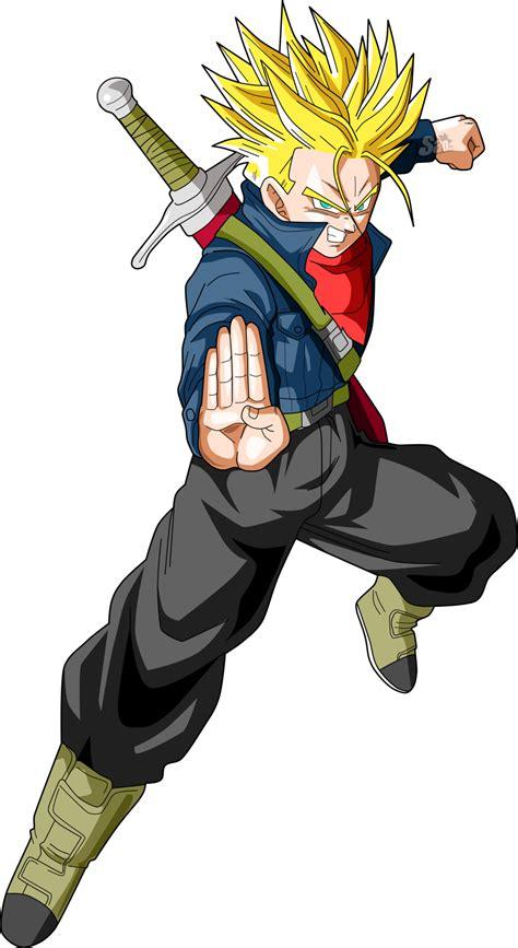 8 Anime Dbs by Mirai Trunks Ssj Dbs By Saodvd On Deviantart
