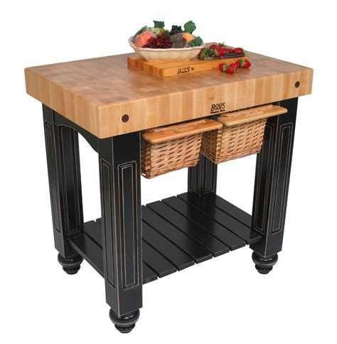 kitchen chopping table boos butcher block tables kitchen islands