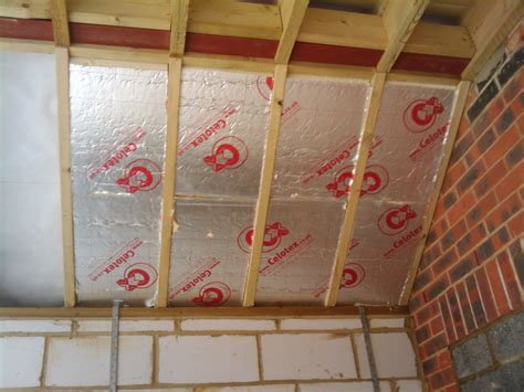 How To Install Insulation In Ceiling by Insulating The Vaulted Ceiling Roof Extension