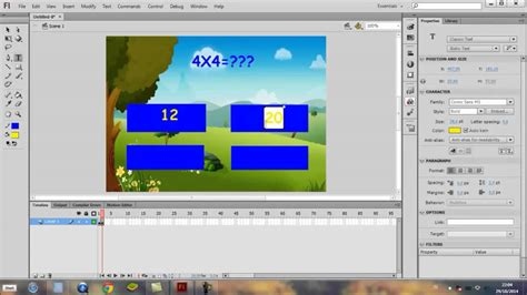 membuat game puzzle dengan flash membuat game edukasi dengan flash 8 tutorial membuat game