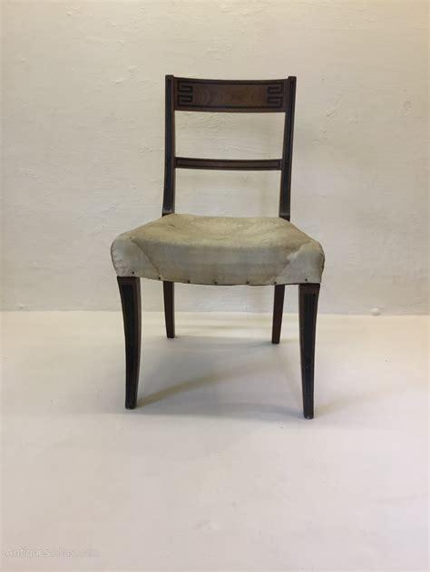 Single Dining Chairs Single Regency Mahogany Chair Antiques Atlas