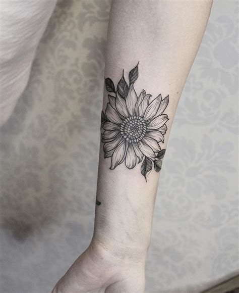sunflower rose tattoo sunflower ideas sunflowers