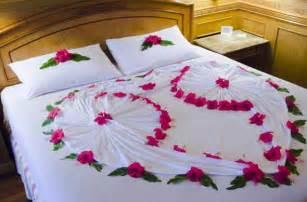 Bedroom decoration for wedding night ideas