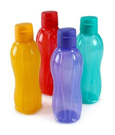Botol Tupperware 1 Ltr tupperware aquasafe water bottles 1 ltr set of 4 buy at best price in india snapdeal