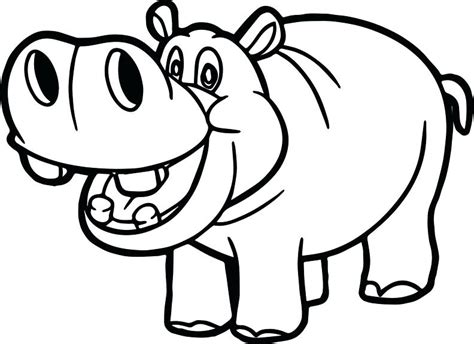 hippo face coloring page hippopotamus coloring pages hippo face pag on cute hippo