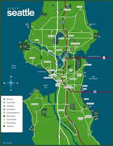 Map Of Seattle by 8 Best Images About Seattle Maps On Pinterest Search Map