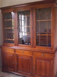 meuble bibliotheque vitrine merisier clasf