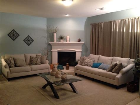 my living room i used behr paint from home depot called quot watery quot really brightened up the room