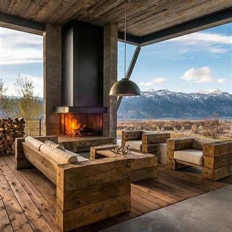barn beams furniture fairy tale houses outdoor fireplace designs home decor outdoor living rooms