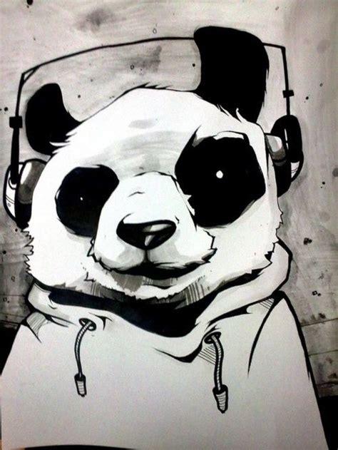 Cool Panda Drawings