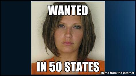 Hot Convict Meme - meagan simmons mugshot